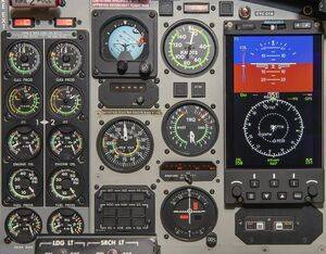 The RoadRunner EFI interfaces seamlessly with modern digital navigation, enabling the Firehawk to fly firefighting and other missions with enhanced safety and reliability. Astronautics Photo
