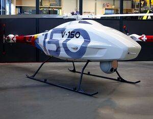 The V-150 can be installed with a combination of EO/IR and signals intelligence sensors to enable the provision of critical mission intelligence in the fields of emergency and security. UMS Skeldar Photo