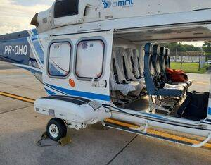 Omni adapted AW139 and S-76C+ helicopters as sanitary aircraft to transport passengers with suspected flu or cold, and will use an S-76C++ aeromedical aircraft to transport suspected or confirmed COVID-19 patients. Omni Photo