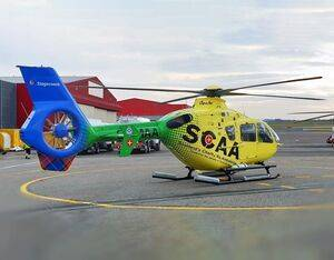 SCAA has doubled its capability, with a second helicopter service (callsign Helimed 79) launched from an additional base at Aberdeen International Airport. SCAA Photo