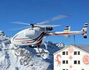 Éire Aviation will have exclusivity over the sale of all SwissDrones products, including the SDO-50V2 single engine unmanned helicopter system. SwissDrones Photo