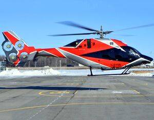 Bell has been flight testing the EDAT system, a novel electric tail rotor design, since May 2019. Bell Photo