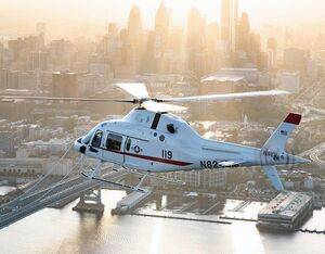 The U.S. Navy in January chose the TH-119 as its next training helicopter, known as the TH-73A. Leonardo Photo
