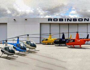 General Aviation Services of Hunan, China, has taken delivery of three R44 Cadets and three R22s. Robinson Photo