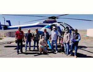 MDHI said it will continue flying relief aid missions in support of the Navajo Nation during the Covid-19 pandemic. MD Helicopters Photo