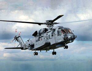 The CH-148 Cyclone, like the one shown in this file photo, was deployed in the Mediterranean Sea with HMCS Fredericton as part of Standing NATO Maritime Group 2 under Operation Reassurance. It was participating in a training exercise at the time of the crash. Lockheed Martin Photo