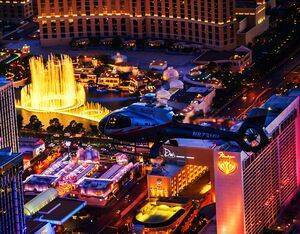 """Maverick Helicopters is launching its """"Our Vegas"""" promotion, where 250 winners and their guest will be given a free flight over Downtown Las Vegas and the Las Vegas Strip. Maverick Helicopters Photo"""