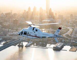 Leonardo will manufacture the Navy's new TH-73A trainers at its facility in Philadelphia. Leonardo Photo