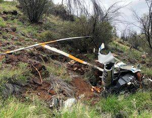 ATSB director transport safety, Dr. Stuart Godley, said the investigation determined it was very likely the pilot was operating at low-level when the helicopter encountered a downdraft with insufficient height to recover. ATSB Photo