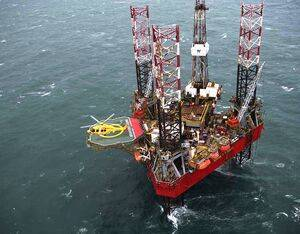 One of NHV's H175s on a landing pad on an offshore rig. Nicholas Gouhier Photo