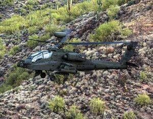 The AH-64E Apache attack helicopter entered service in the U.S. Army in 2011 and has been selected by defense forces in Europe, the Middle East and Asia. Boeing Photo