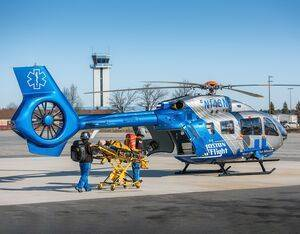 Boston MedFlight is New England's primary provider of critical care medical transport by air and ground, caring for more than 4,700 patients annually. Boston MedFlight Photo