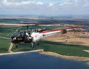The Alouette III began flying with Portugal's Air Force in 1963, from which the type amassed over 330,000 flight hours. Paulo Mata Photo