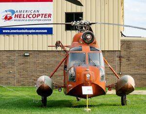 The museum collects, restores and displays rotary-wing aircraft, including over 35 civilian and military helicopters, autogiros and convertiplanes. AHMEC Photo