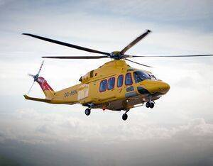 NHV will provide two Leonardo AW139 helicopters under this contract. NHV Photo